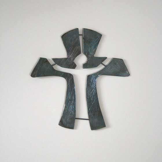 2011 cross of joy (square - unadorned)