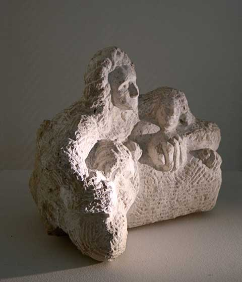 2008 mother with children (sandstone)